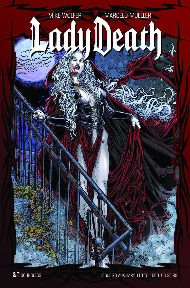 Lady Death 23 Auxiliary Cover Fresh Comics