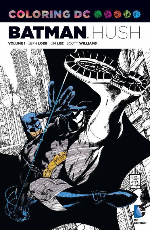 Coloring DC Vol 1 Batman Hush