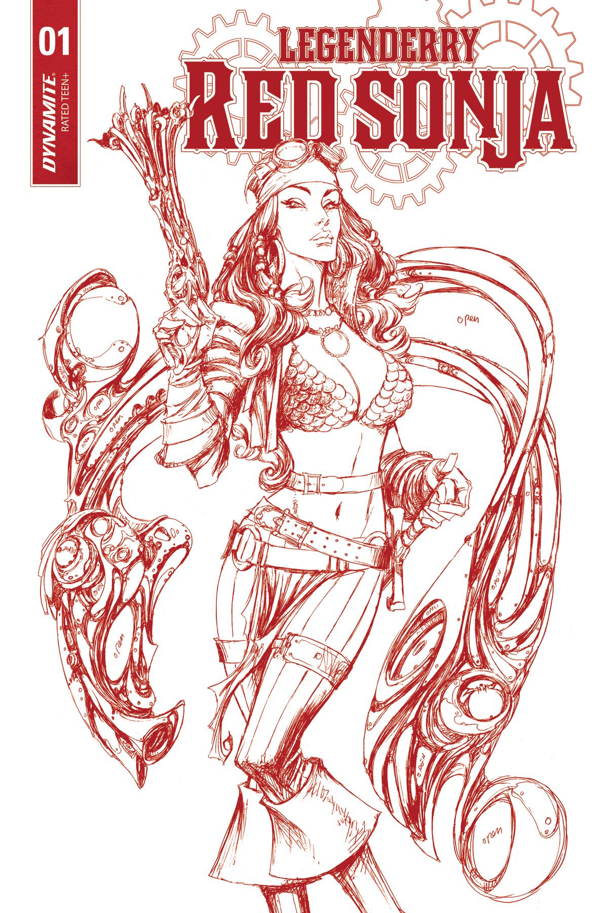 Joe benitez fresh comics Xena coloring book
