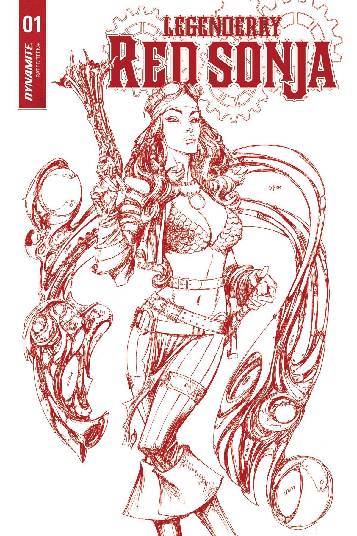 Joe benitez fresh comics Xena coloring book