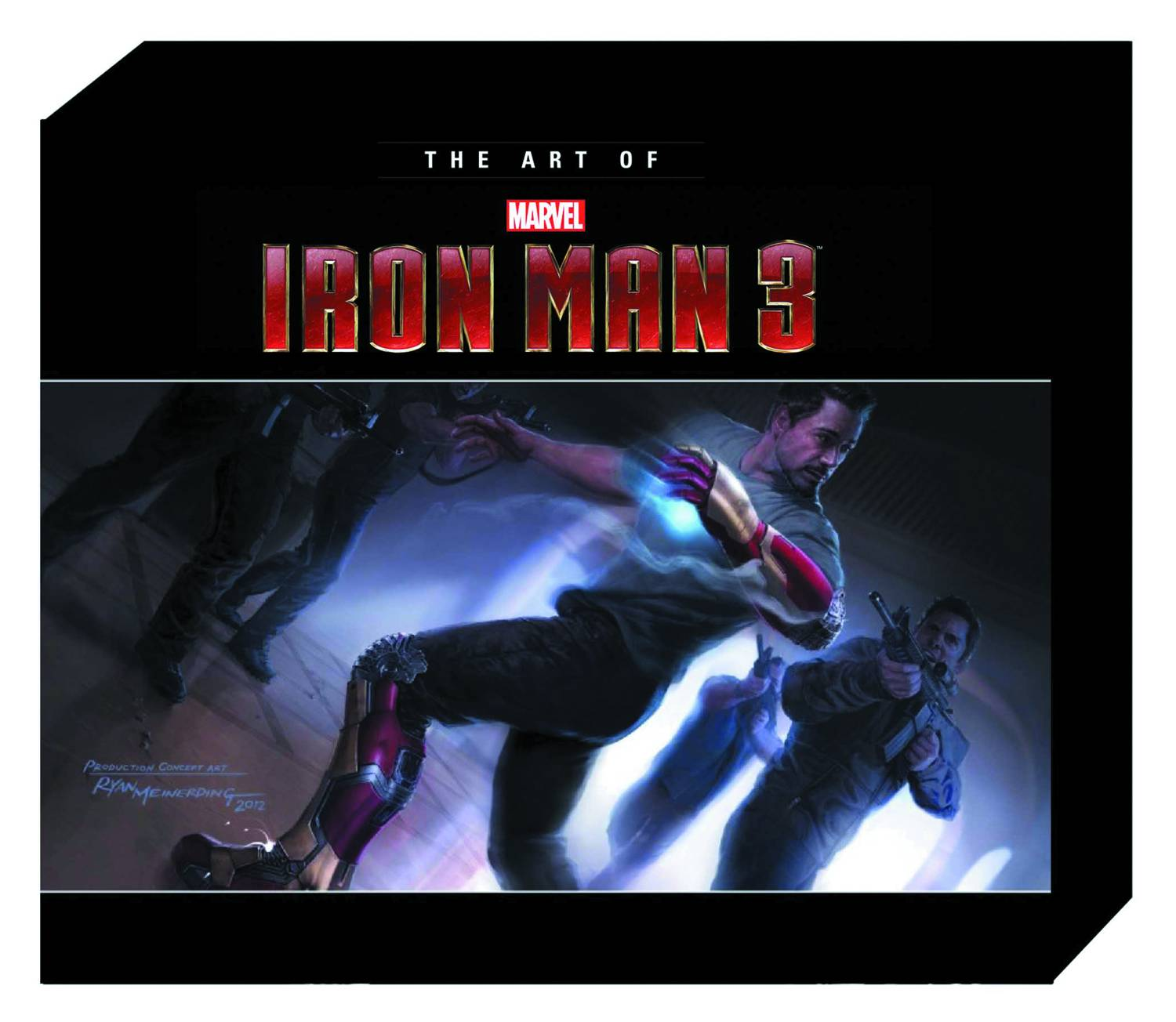 the art of iron man 3 fresh comics