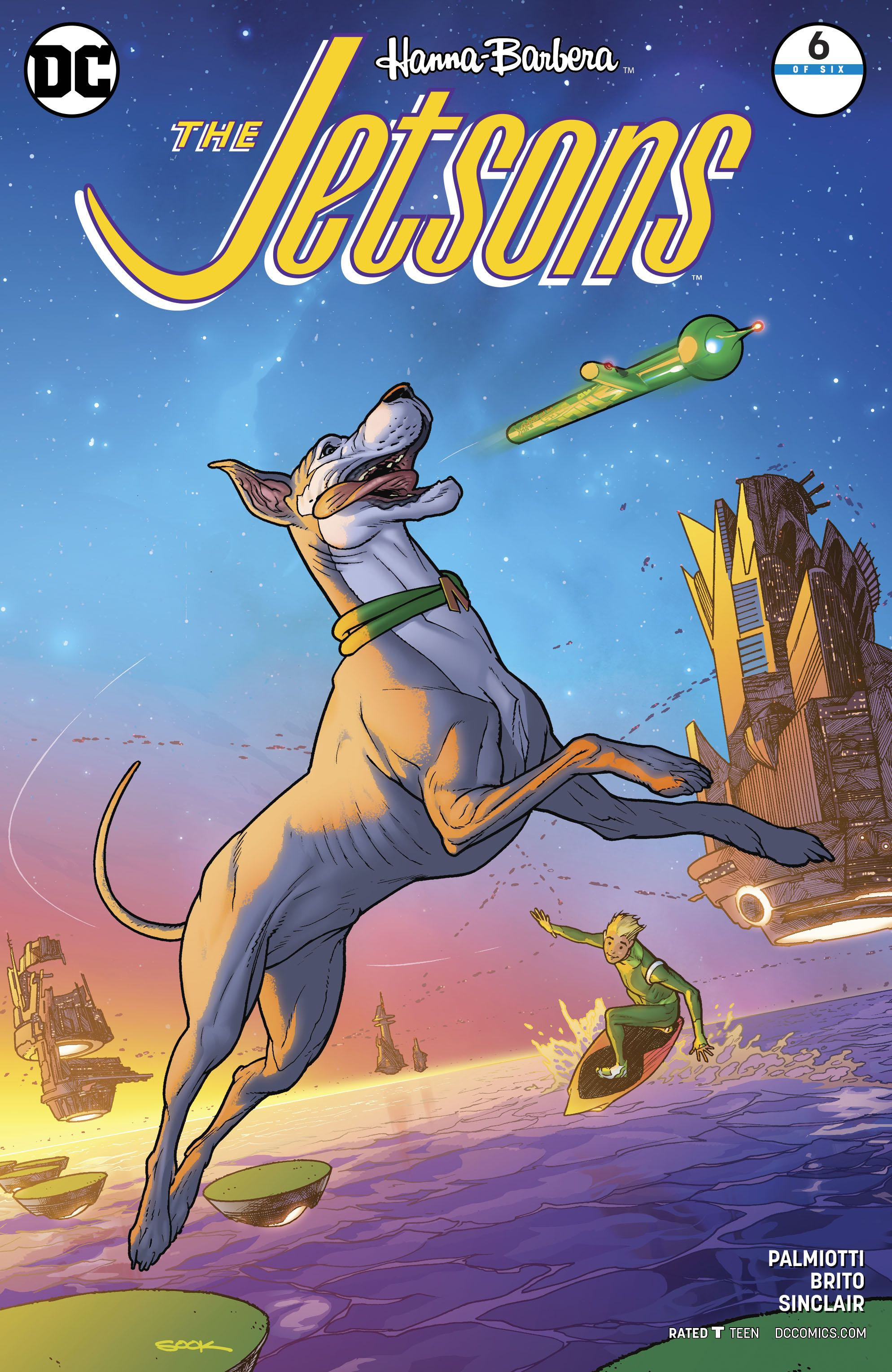 The Jetsons #6 (Variant Cover) | Fresh Comics