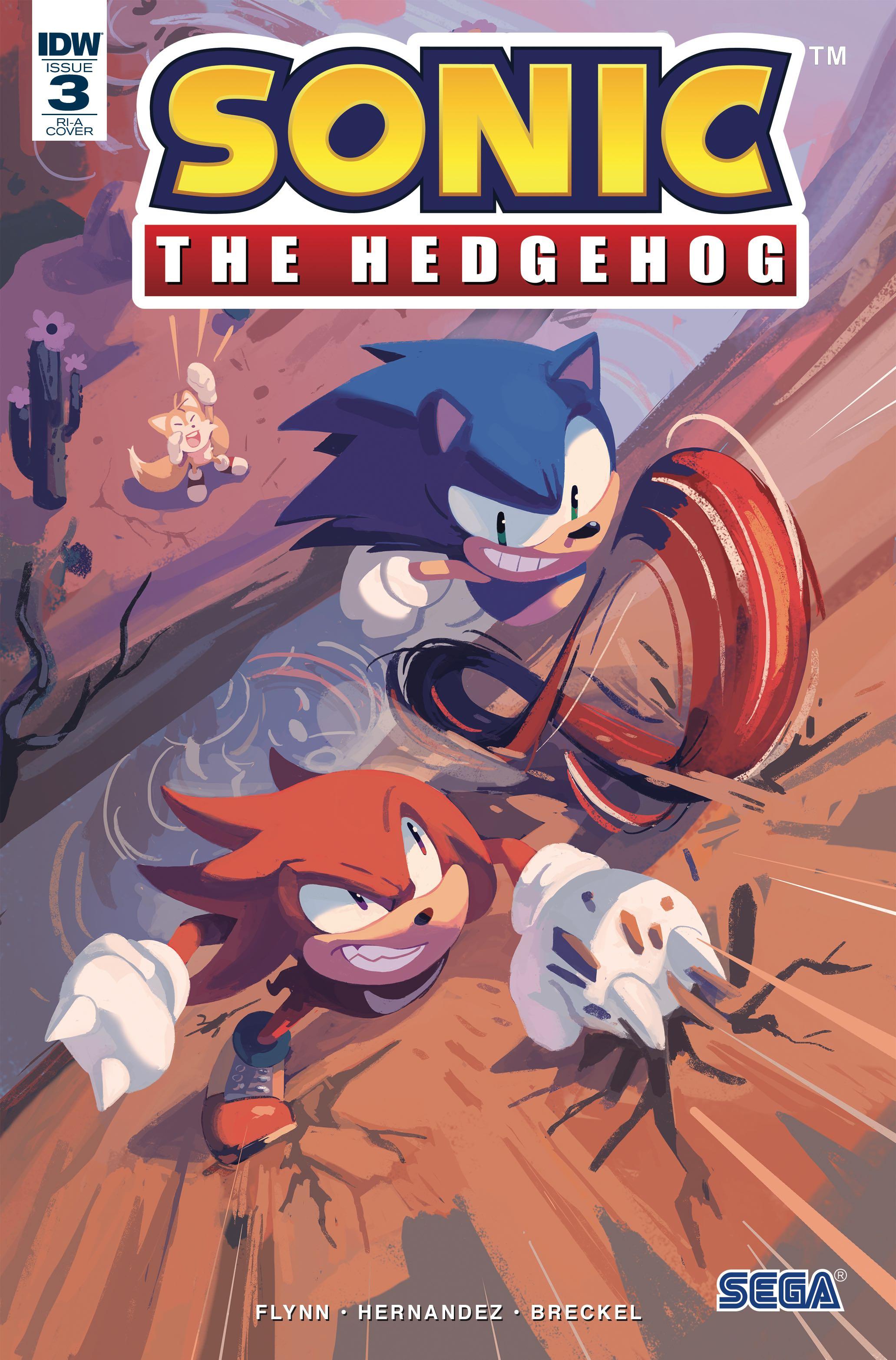 Sonic The Hedgehog 3 10 Copy Cover Fresh Comics