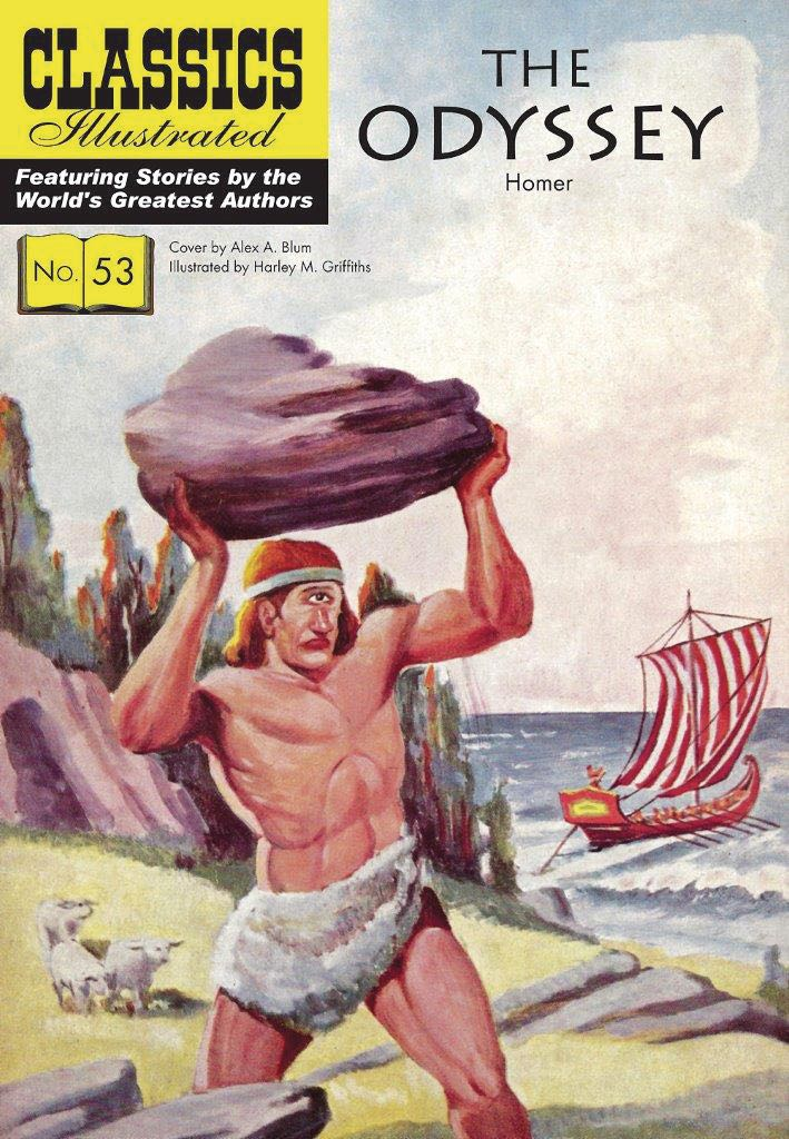 the story of determined warrior in homers greek tale the odyssey