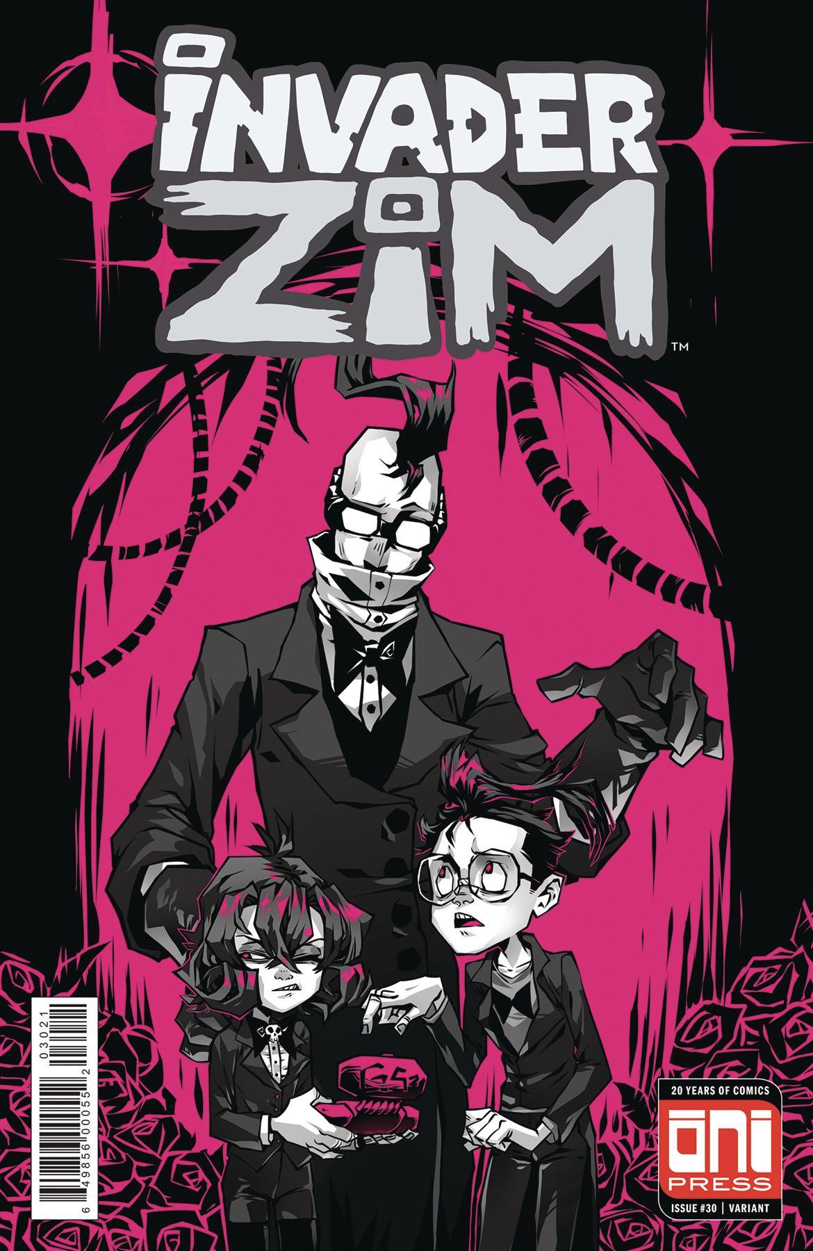 Invader Zim #30 (Krooked Glasses Cover) | Fresh Comics