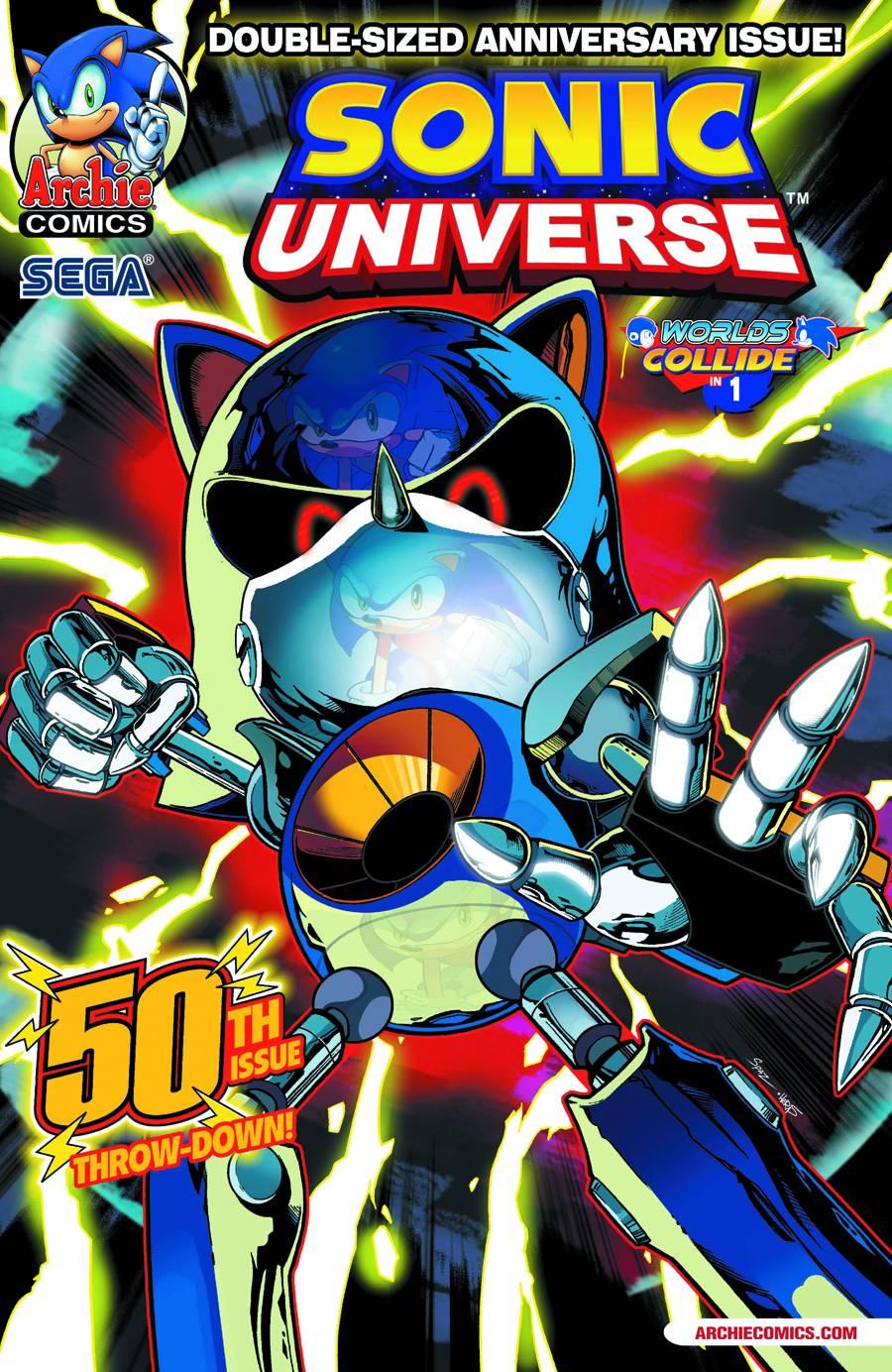 Sonic Universe 50 Fresh Comics
