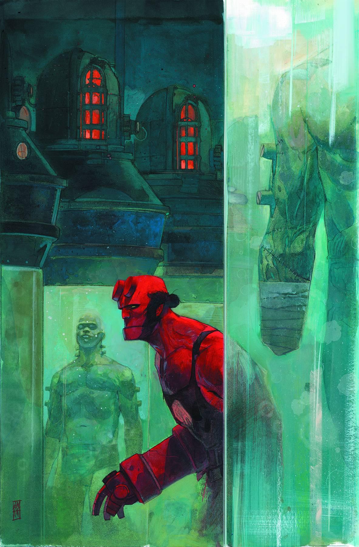 Hellboy and the B.P.R.D. #4: 1952 | Fresh Comics