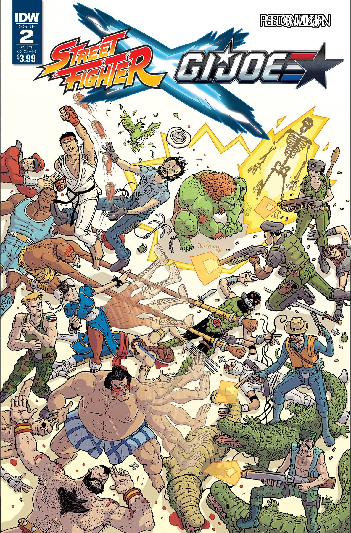 Image result for street fight vs gijoe comic 2