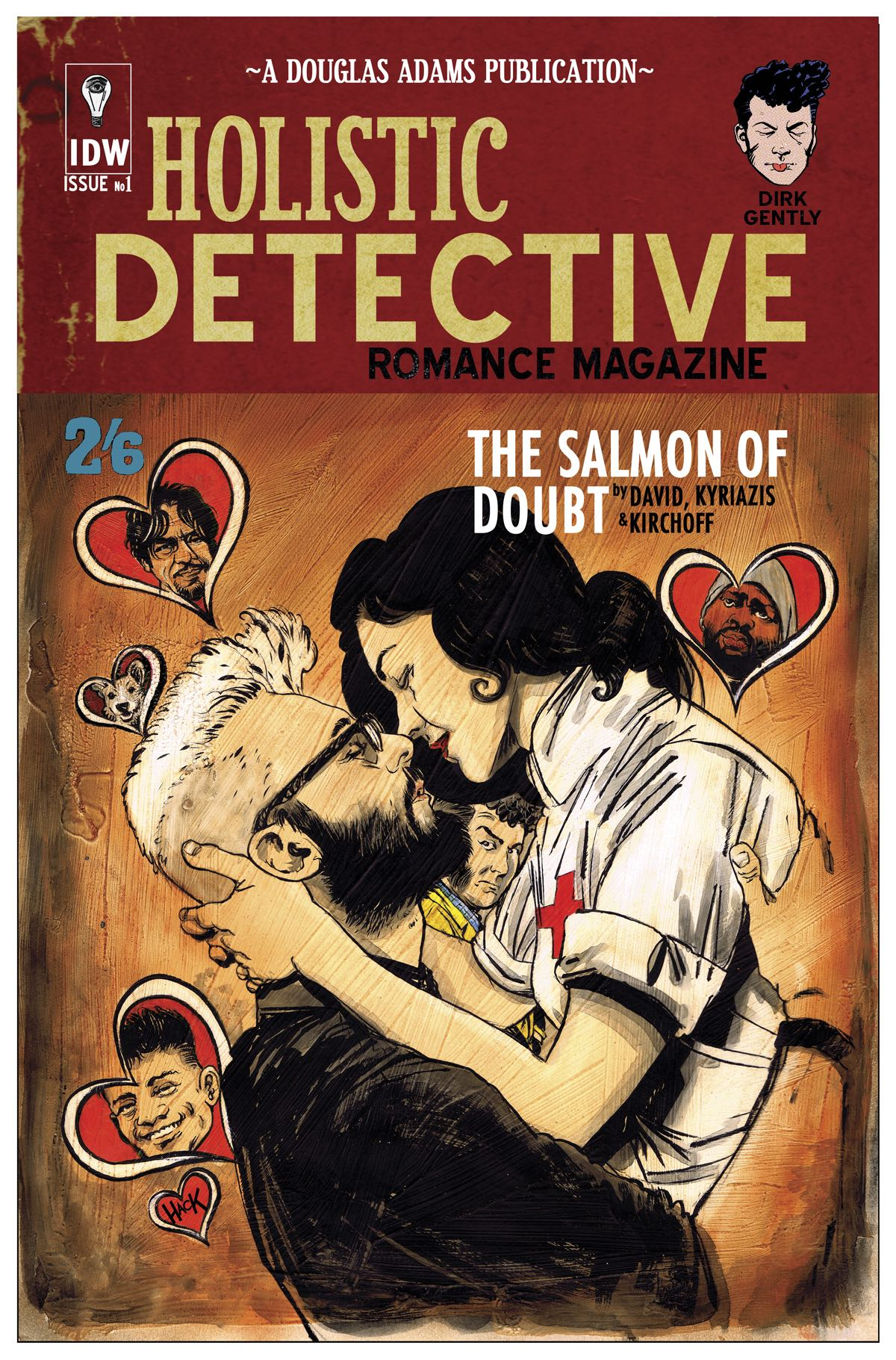 Dirk Gently's Holistic Detective Agency: The Salmon Of Doubt #6 (10 Copy  Cover