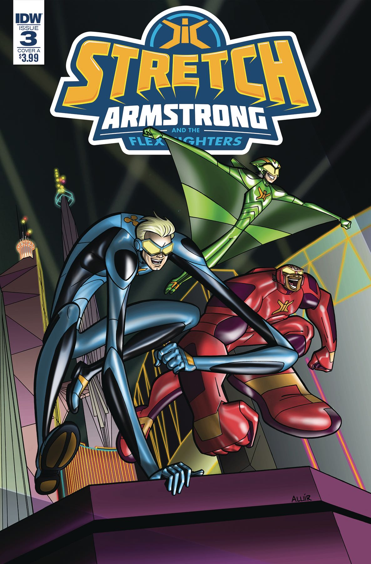 Stretch Armstrong and the Flex Fighters #3 (Amancio Cover ...
