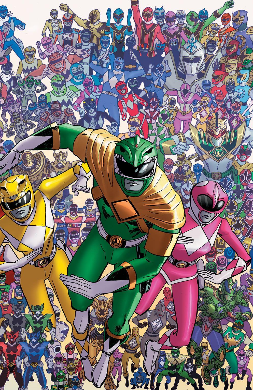 Mighty Morphin Power Rangers 25 25 Copy Koblish Cover