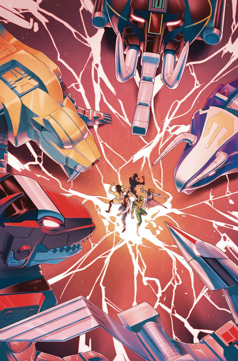 Mighty Morphin Power Rangers 7 Fresh Comics