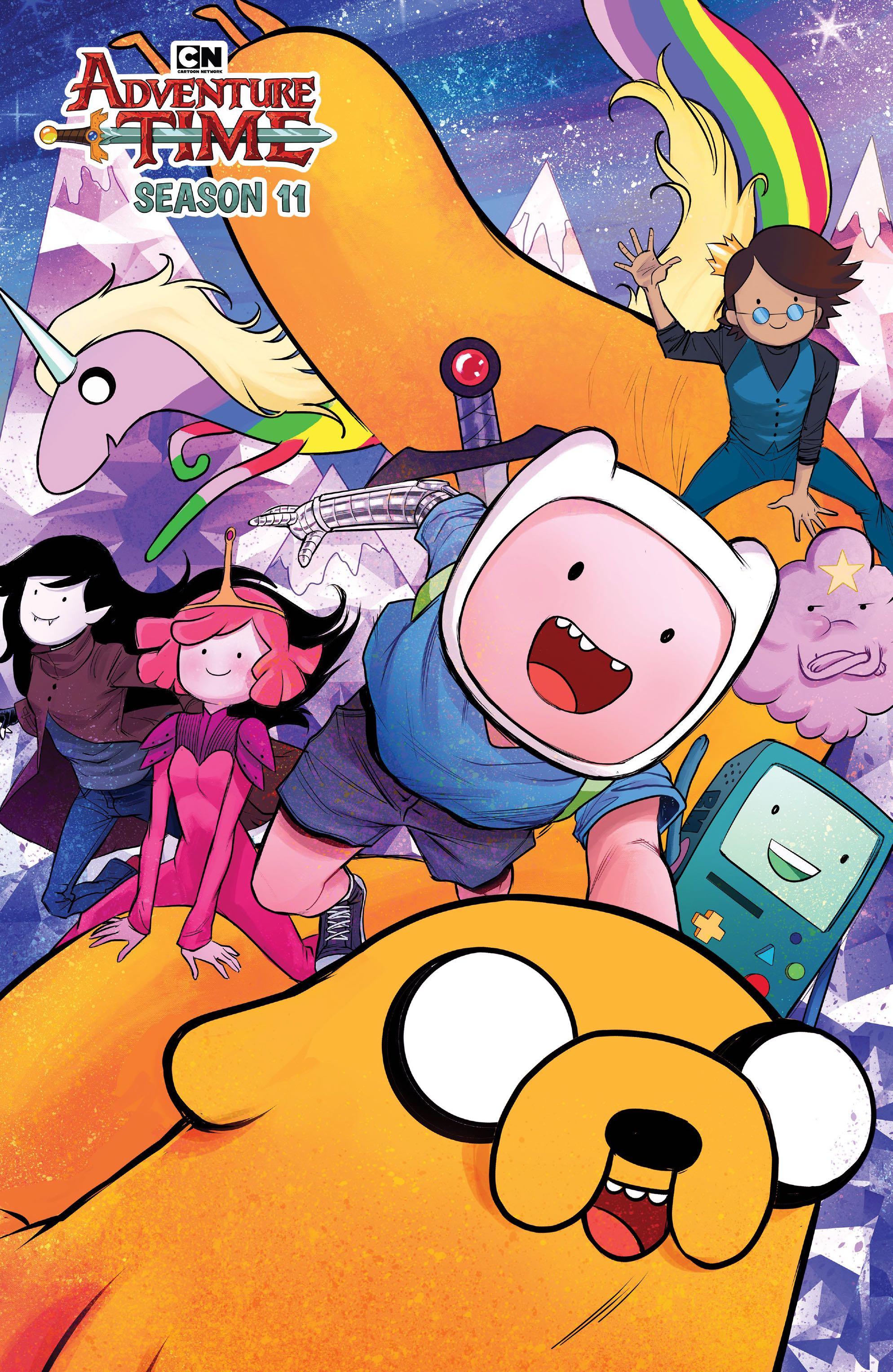 Adventure Time, Season 11 #1 (Werneck Cover)  Fresh Comics