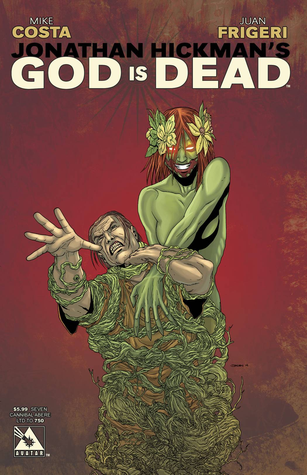 God Is Dead 7 Cannibal Abere Cover Fresh Comics