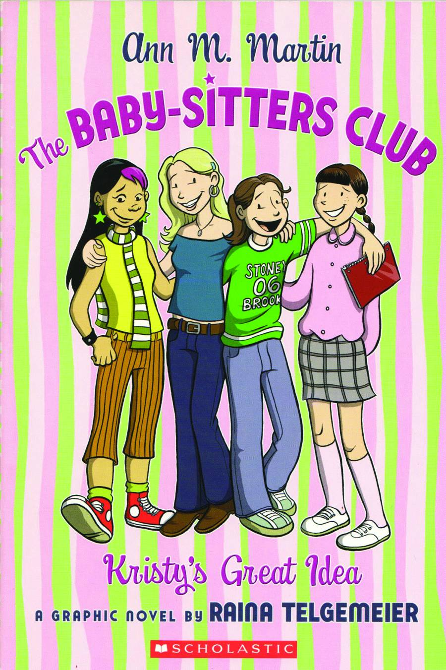 a summary of kristys great idea by ann m martin By ann m martin (author), raina telgemeier (illustrator) kristy, mary anne, claudia, and stacey are best friends and founding members of the baby-sitters club.