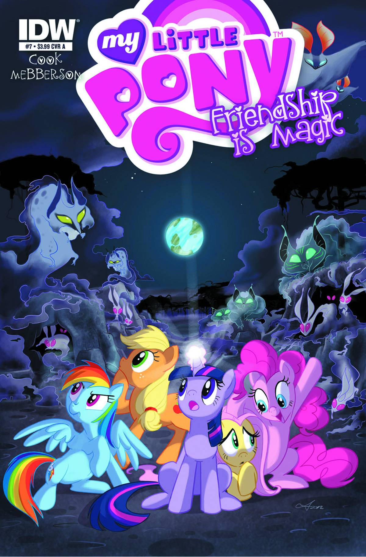 My little pony friendship is magic 7 fresh comics - Princess luna screensaver ...