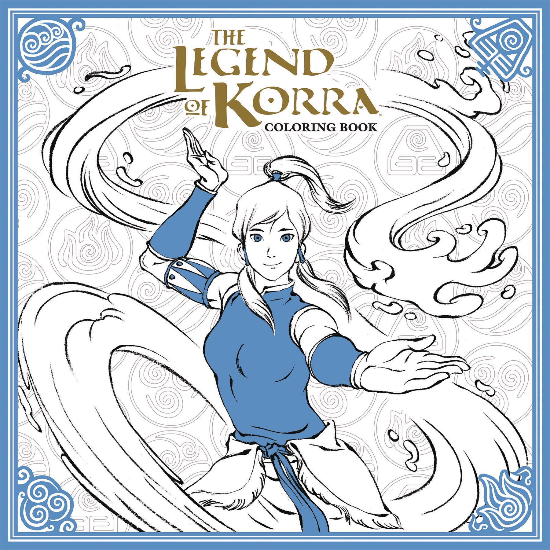 The Legend of Korra Coloring Book | Fresh Comics