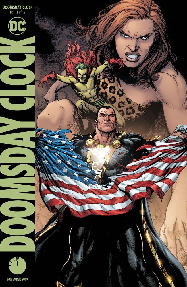 Doomsday Clock 11 Variant Cover Fresh Comics
