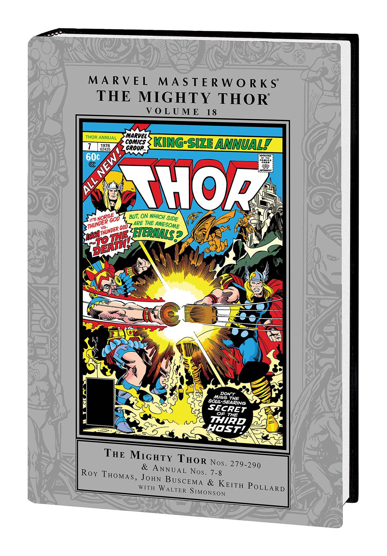 The Mighty Thor Vol  18 (Marvel Masterworks) | Fresh Comics