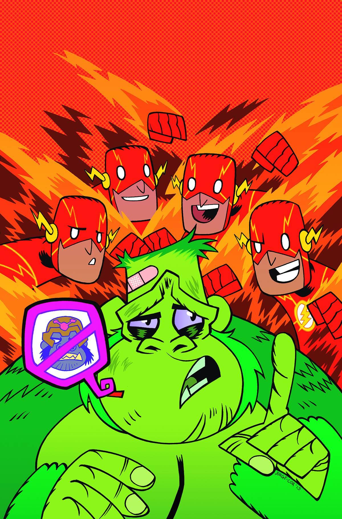 The Flash 42 Teen Titans Go Cover  Fresh Comics-2095
