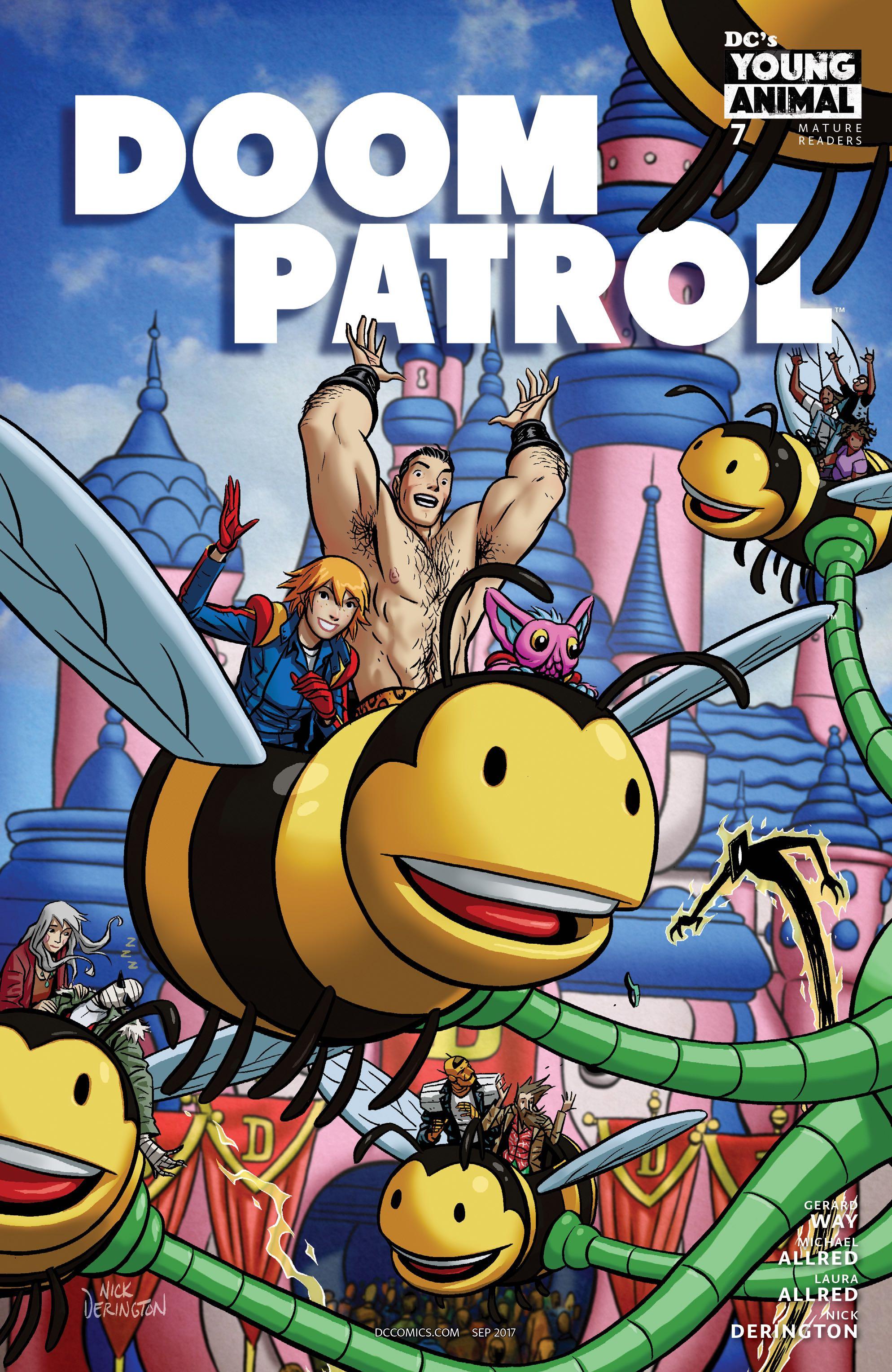 Doom Patrol 7 Variant Cover Fresh Comics