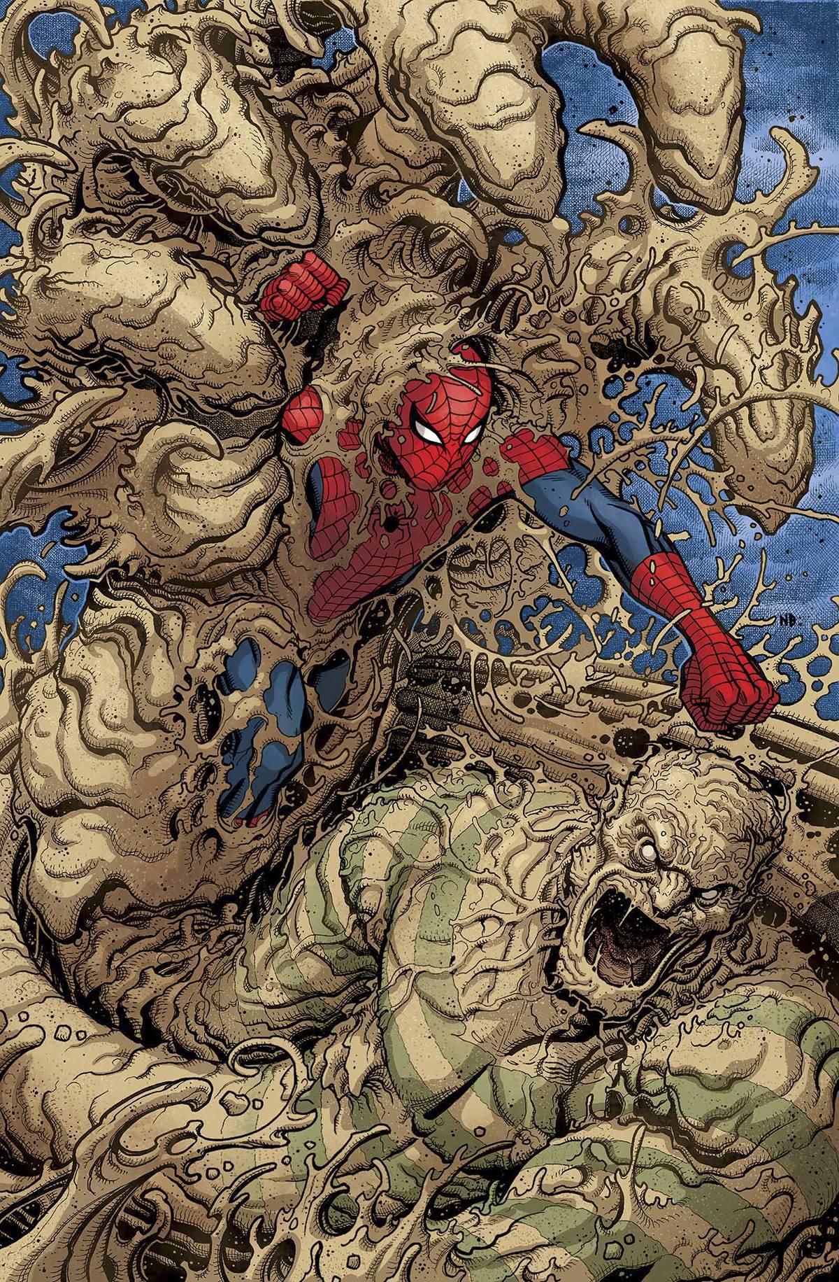 sandman spiderman comic - HD811×1239