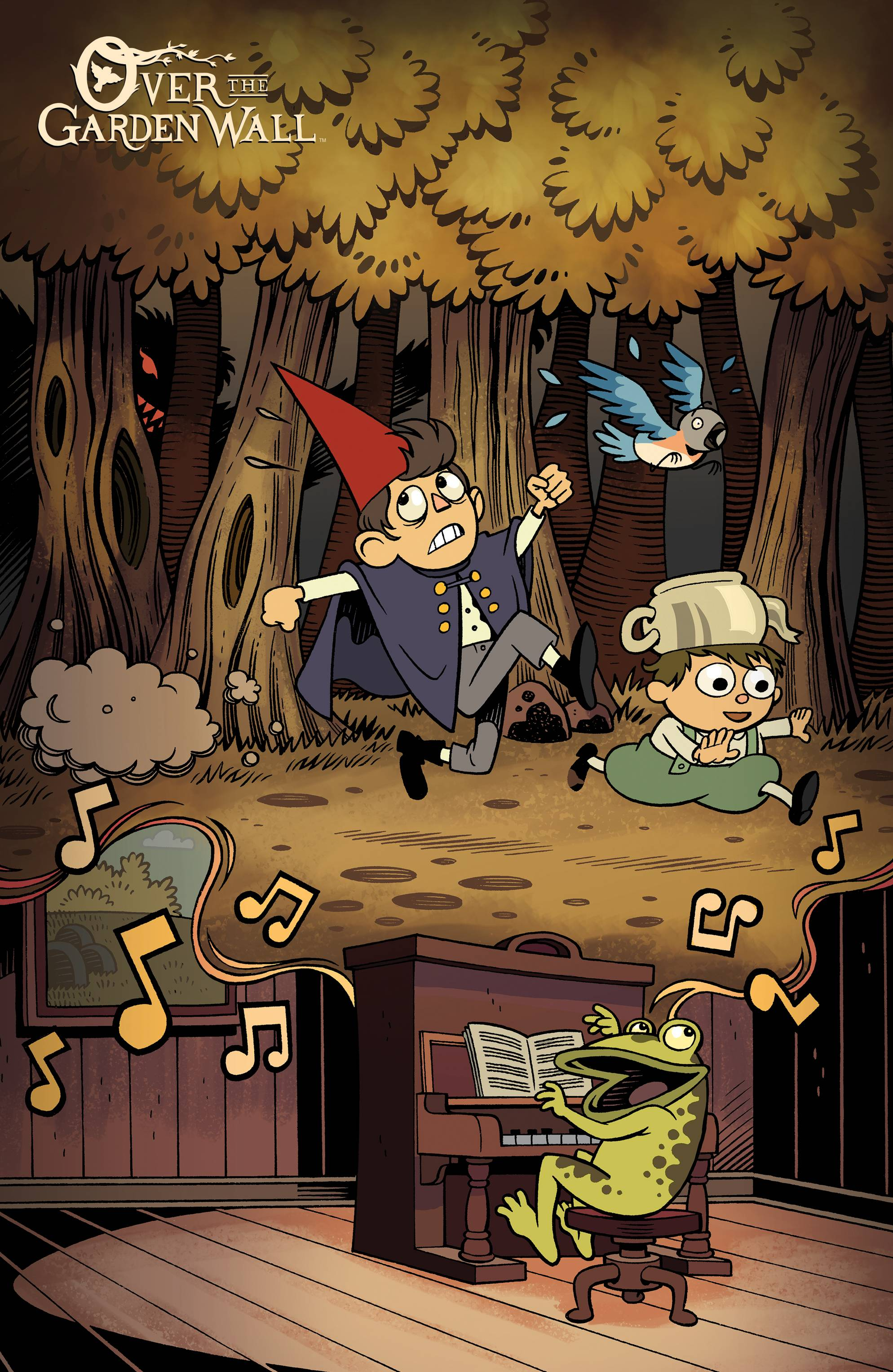 Over the Garden Wall #1 (BCC Cover)   Fresh Comics