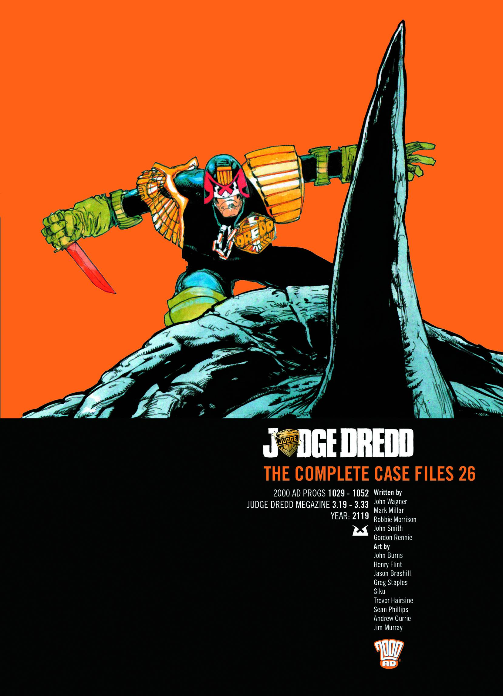 Judge Dredd: The Complete Case Files 10 by John Wagner (English) Paperback Book