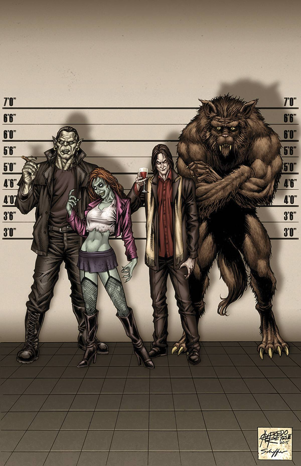 Grimm Fairy Tales: Escape From Monster Island #1 (Reyes