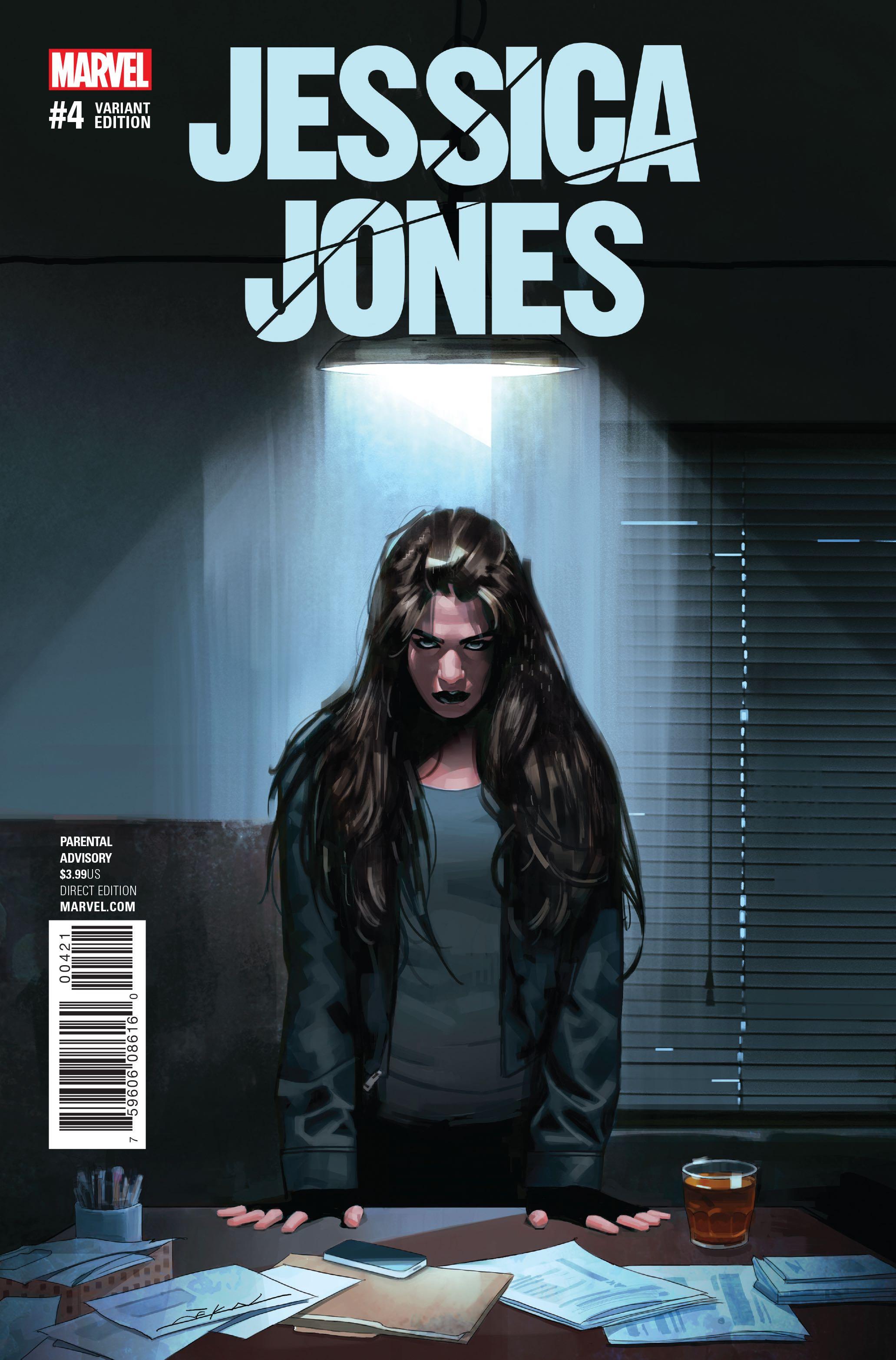 Jessica Jones 4 Dekal Cover Fresh Comics