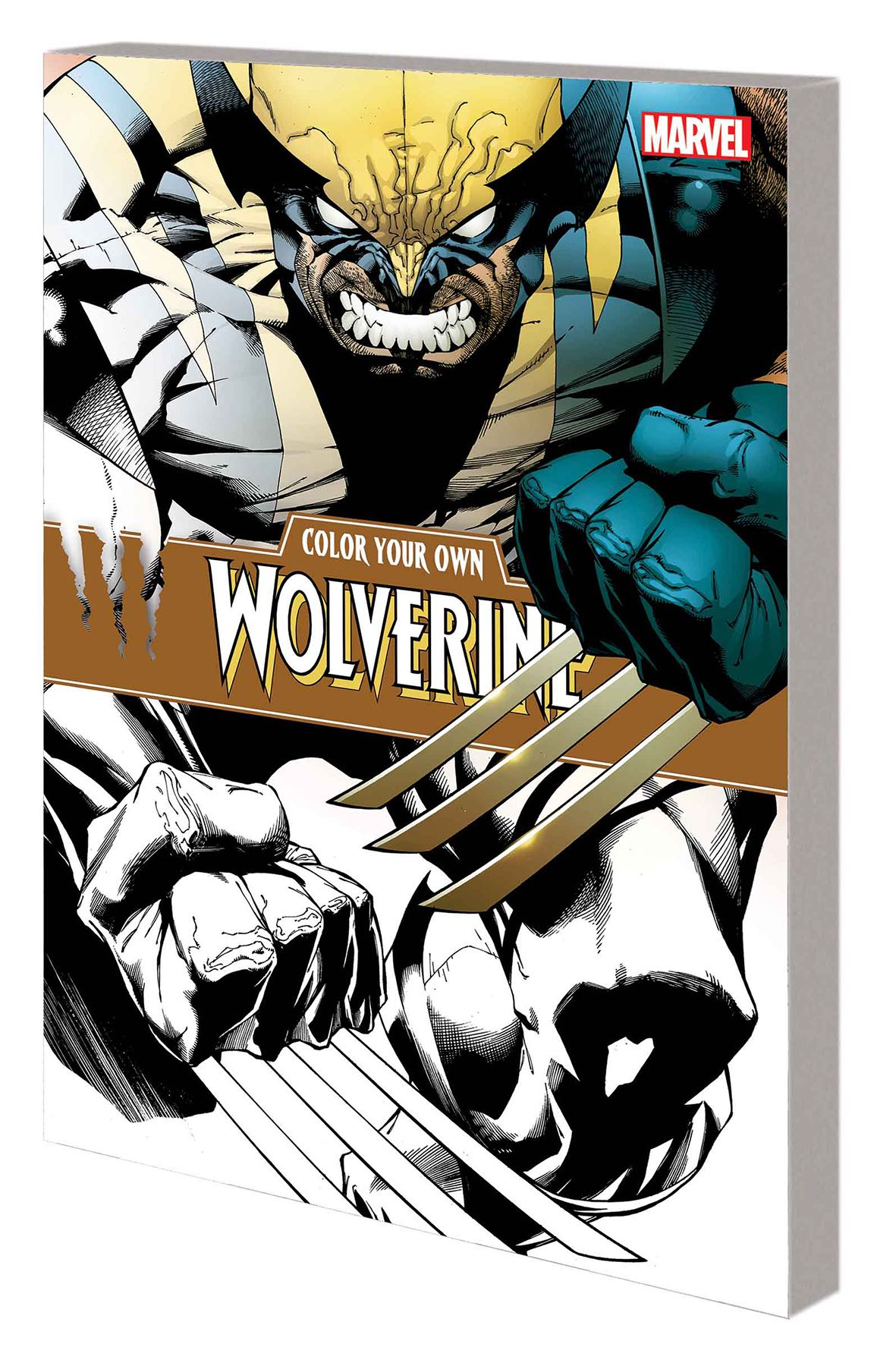 Color Your Own Wolverine Fresh Comics Color Your Own Wolverine