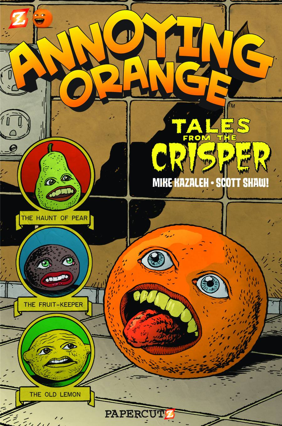 annoying orange vol 4 tales from the crisper fresh comics. Black Bedroom Furniture Sets. Home Design Ideas