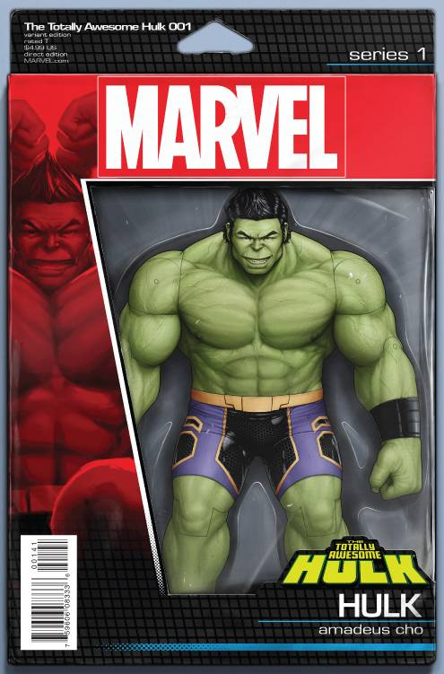 Totally Awesome Hulk #1 (Action Figure Cover)
