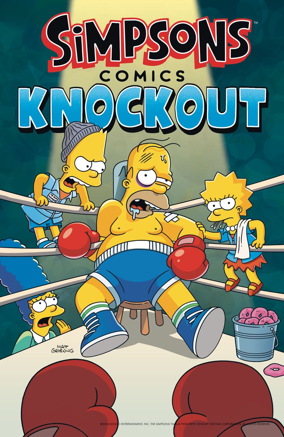 Simpsons Comics Knockout Fresh Comics
