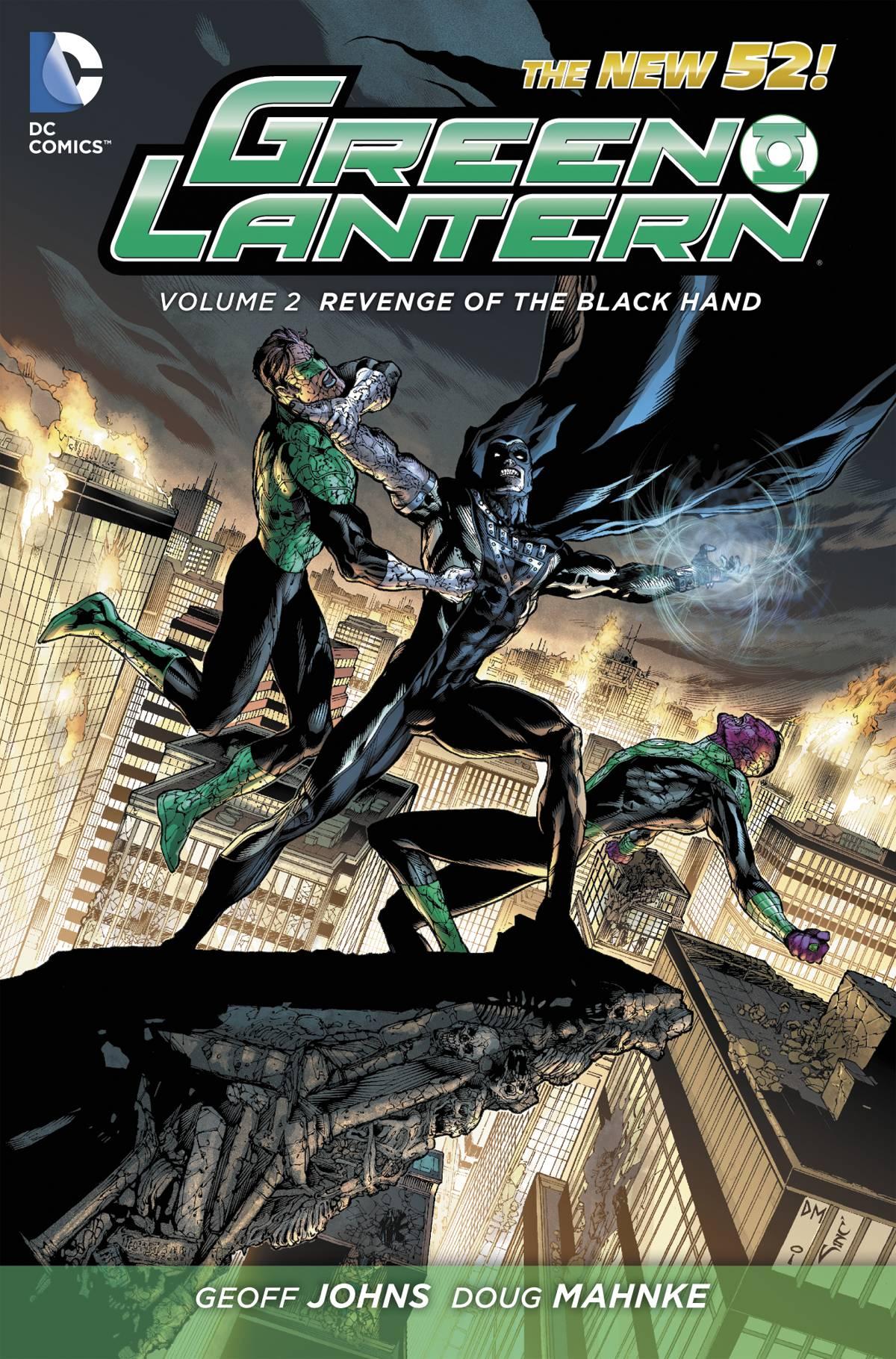 Green Lantern Vol. 2: Revenge of the Black Hand   Fresh Comics