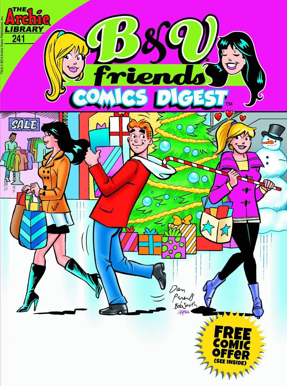 B Amp V Friends Comics Digest 241 Fresh Comics