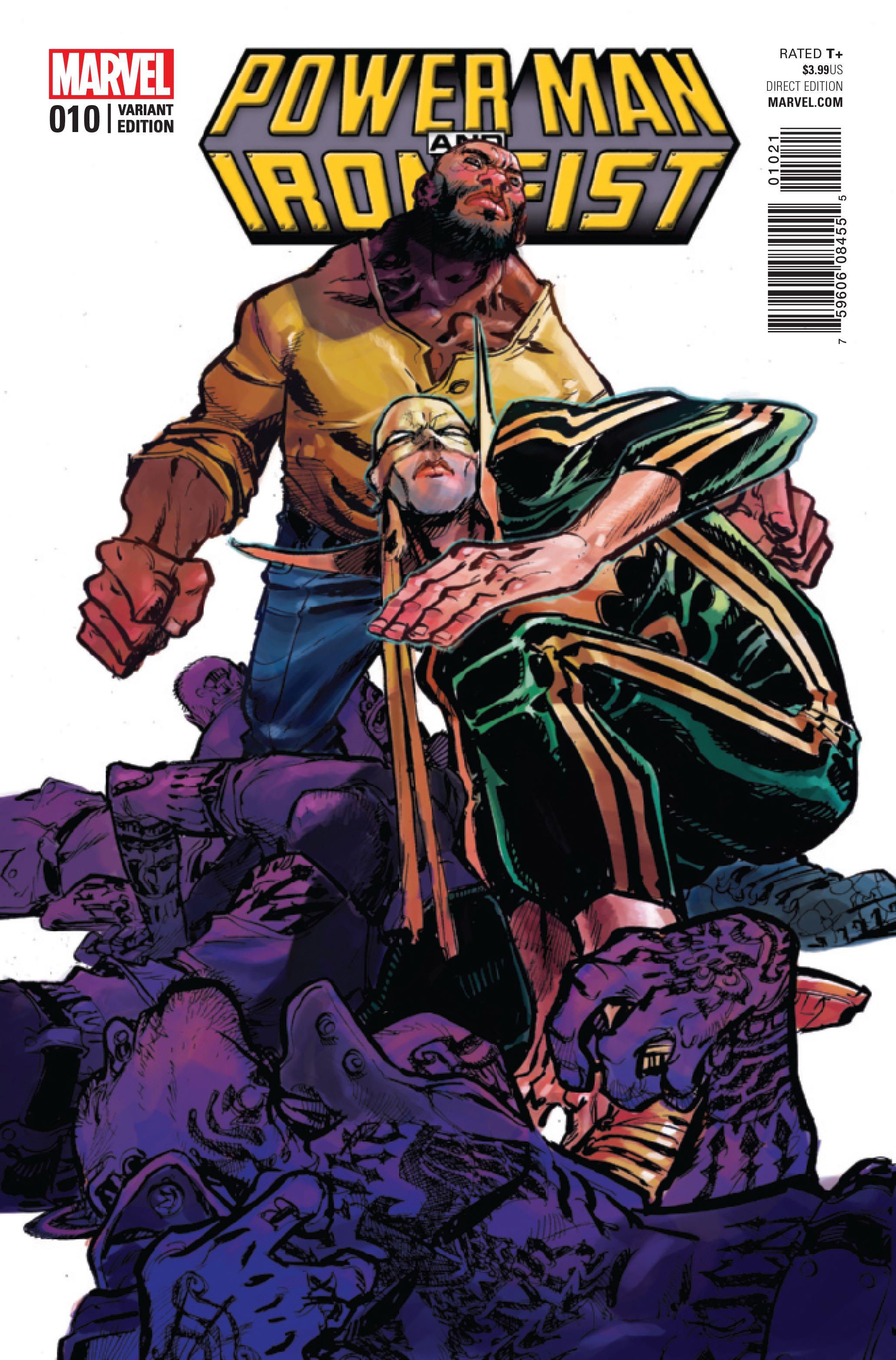 power man and iron fist comic - HD1169×1800