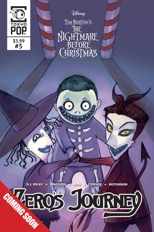The Nightmare Before Christmas: Zero\'s Journey #5   Fresh Comics