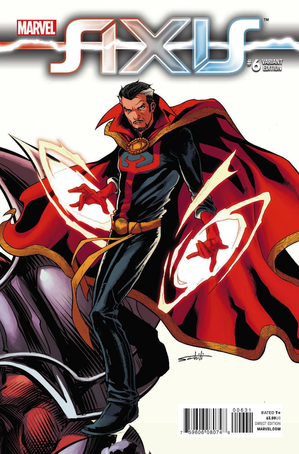 AXIS #6 006   Marvel Comics vf//nm CB1475