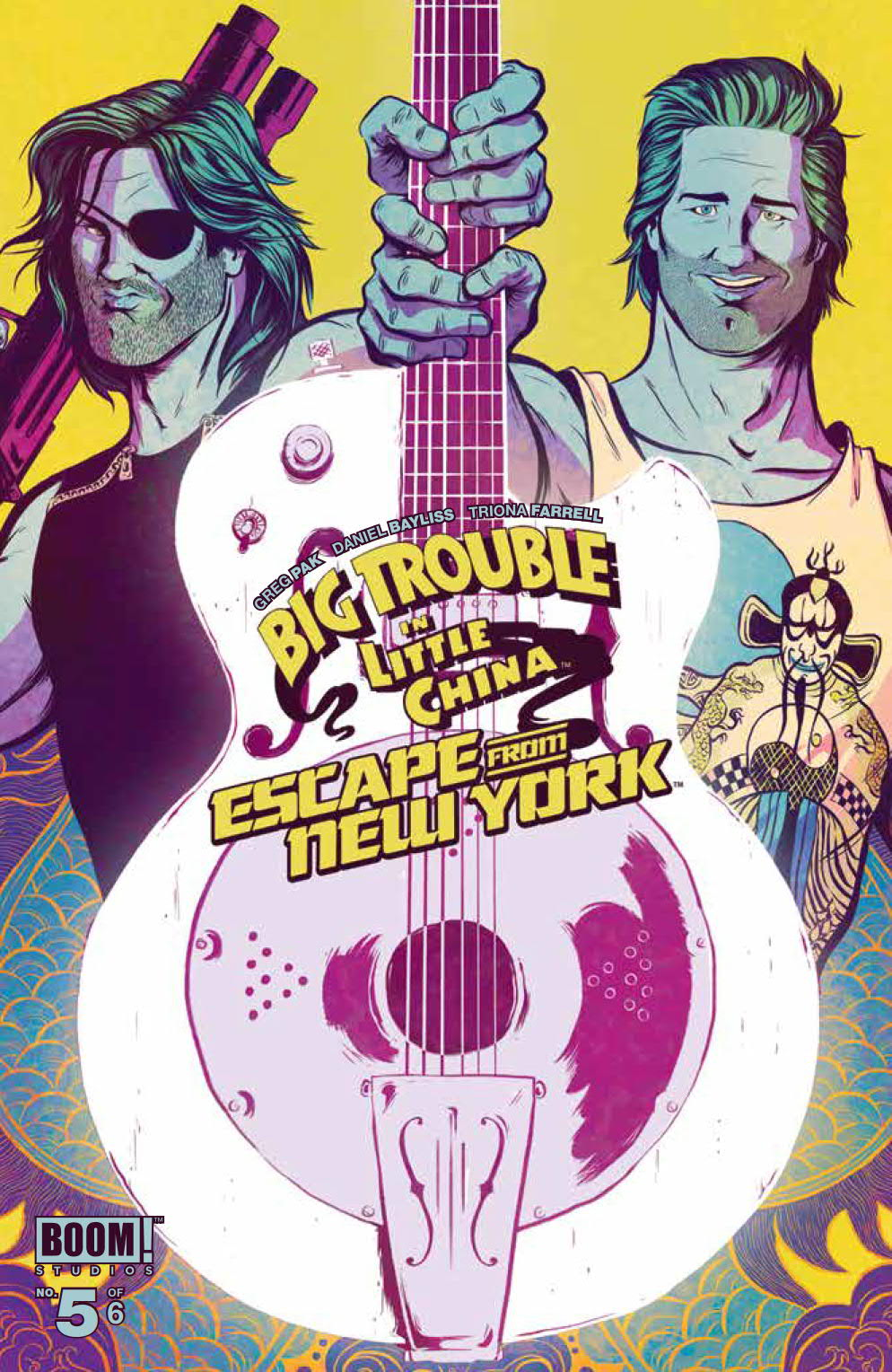 Big Trouble In Little China Escape From New York 5 Wraparound