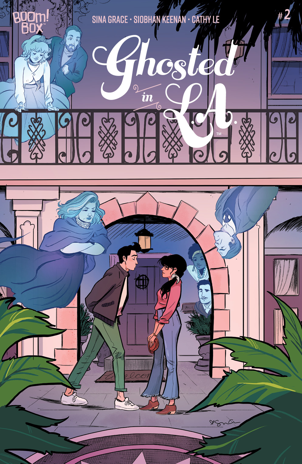 Ghosted in L.A. #2 (Keenan Cover) | Fresh Comics