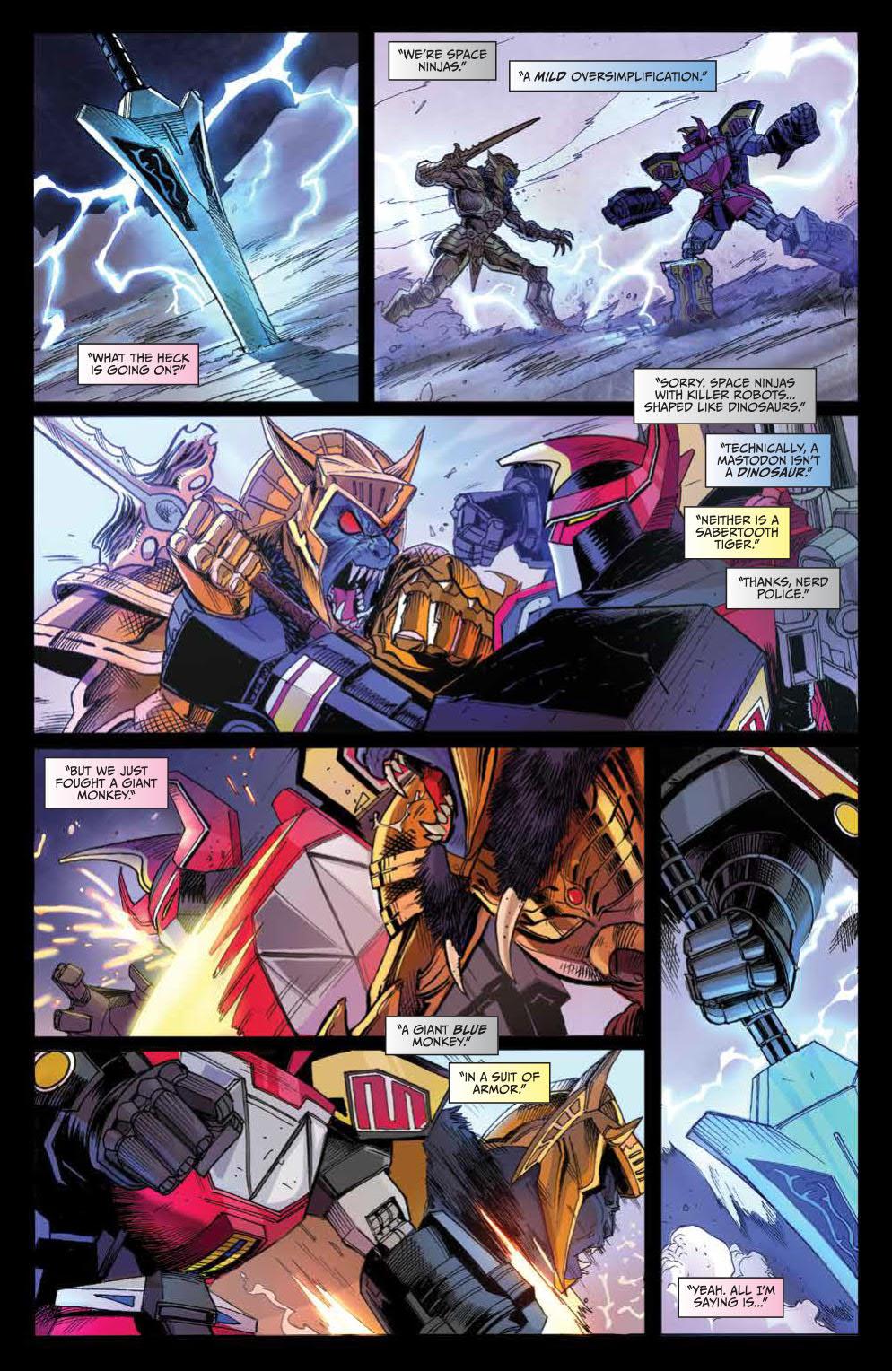 Go  Go  Power Rangers  Vol  1