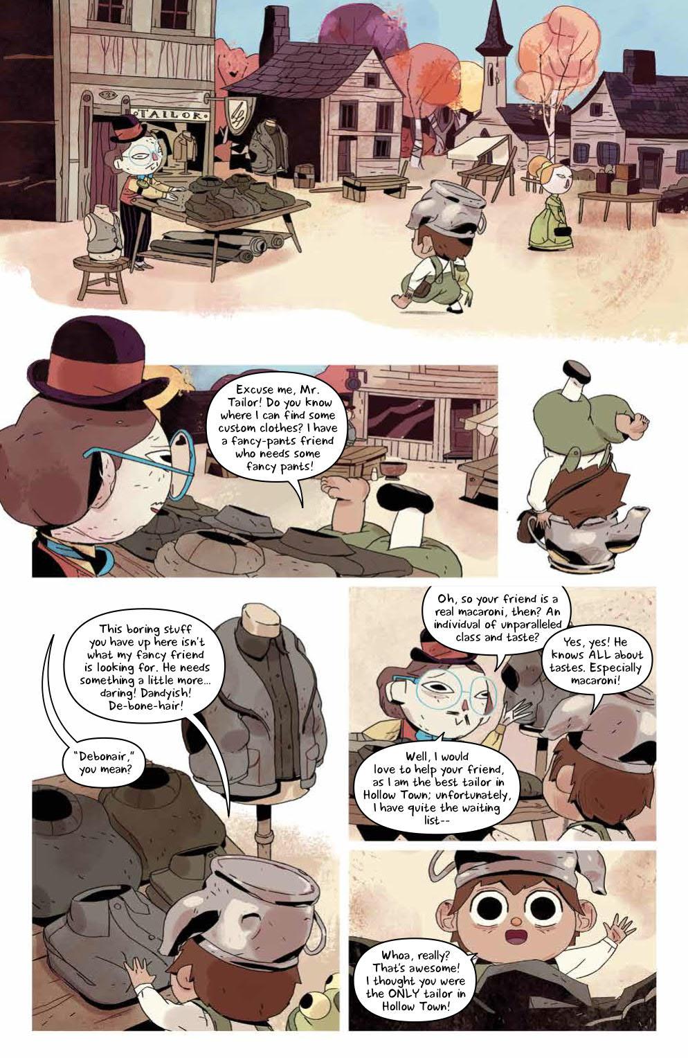 Over the Garden Wall: Hollow Town #2 | Fresh Comics