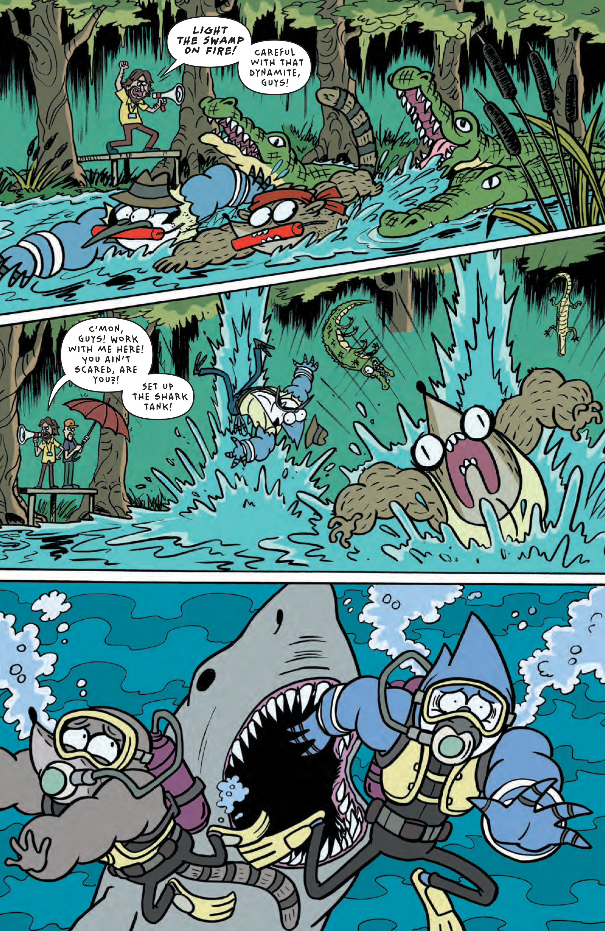 Talk this Regular show comics seems me