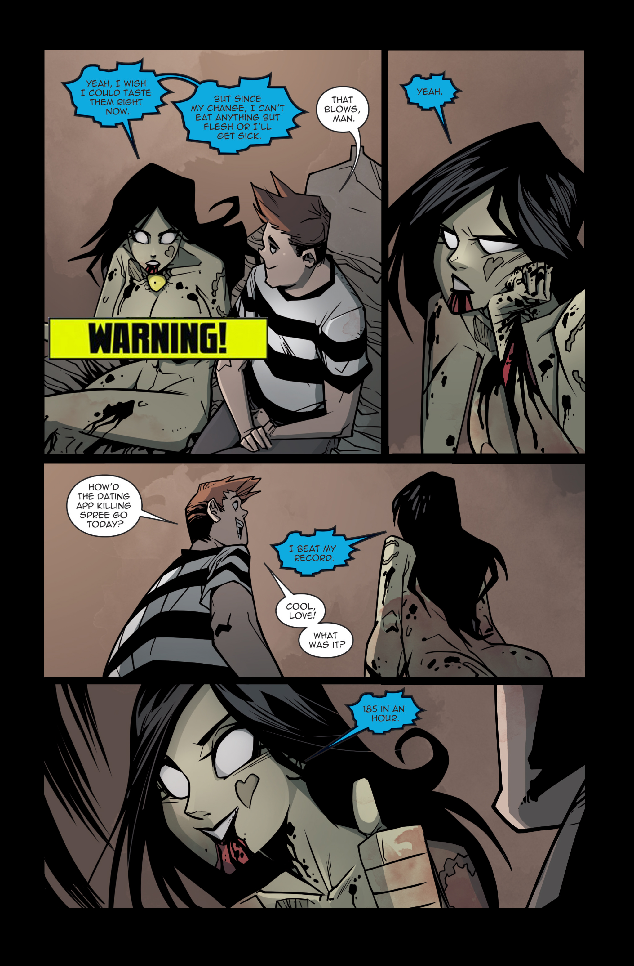 Issue Preview. Zombie Tramp Vol. 14: The Redeemer Born