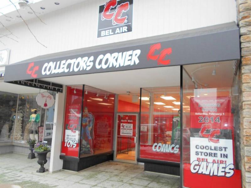 collectors corner bel air md fresh comics